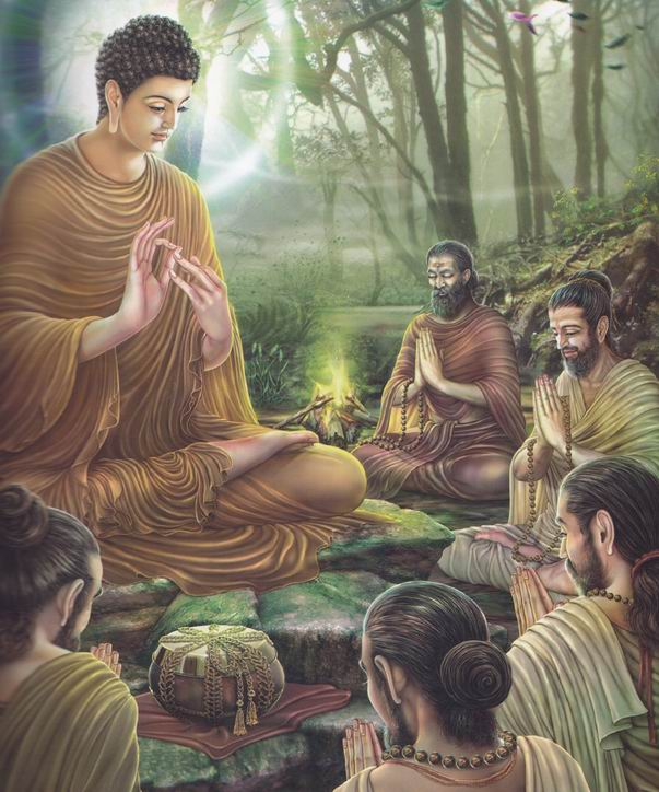 Paintings_of_Life_of_Gautama_Buddha_-_Asalha_Puja