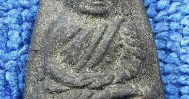ตัวอย่างพระเก๊ หลวงปู๋ทวด เนื้อว่านพิมพ์ใหญ่ ปี 2524